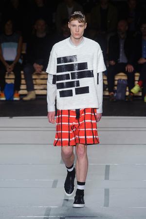 Показы мод Kenzo Весна-лето 2014 | Подиум на ELLE - Подиум - фото 3509