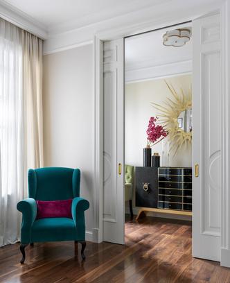 Квартира 101 м² в центре Москвы: проект Виктории Власовой (фото 16)