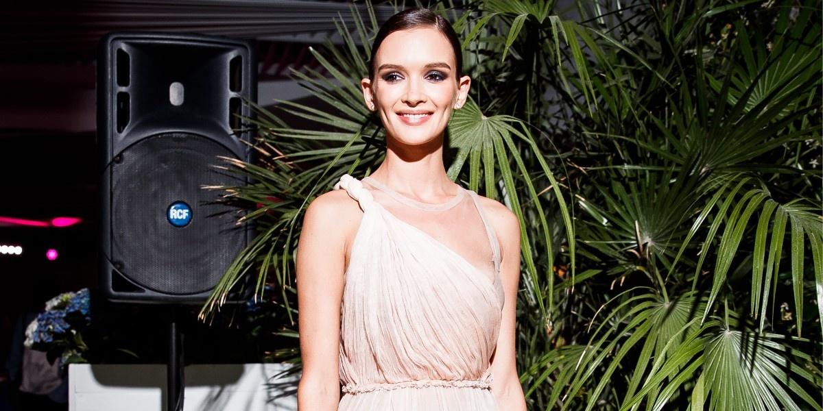 Мисс Грация: Паулина Андреева в Dior на вечере в Сочи