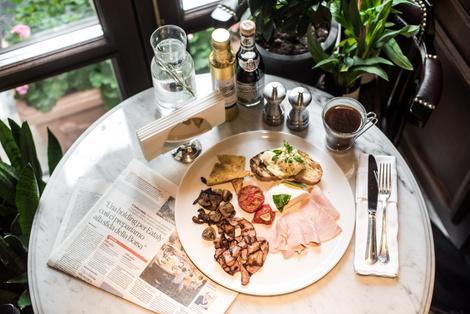 Римские каникулы: ресторан Salumeria Moscow на Патриарших   галерея [1] фото [5]