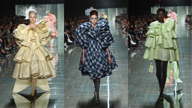 Перья, шелк и волшебная ностальгия: показ Marc Jacobs (фото 3)