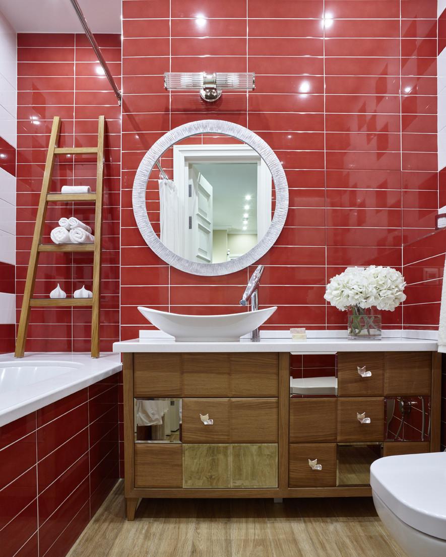 Маленькая ванная комната: 20 интерьеров (галерея 0, фото 1)