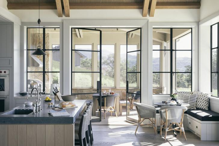 Современное ранчо в долине Сонома по проекту Wade Design Architects (фото 7)
