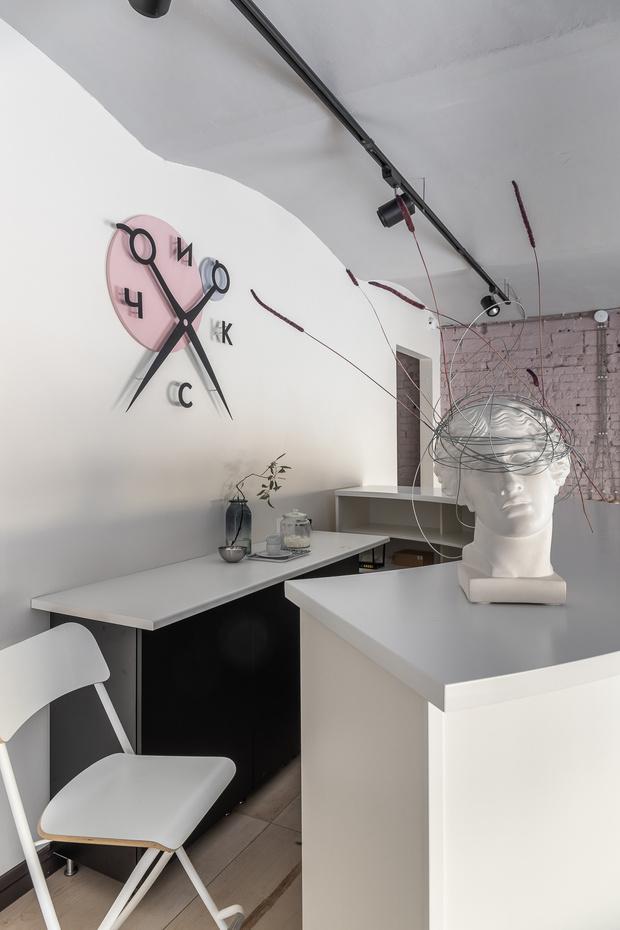 Салон красоты в розовых тонах в Серпухове (фото 12)