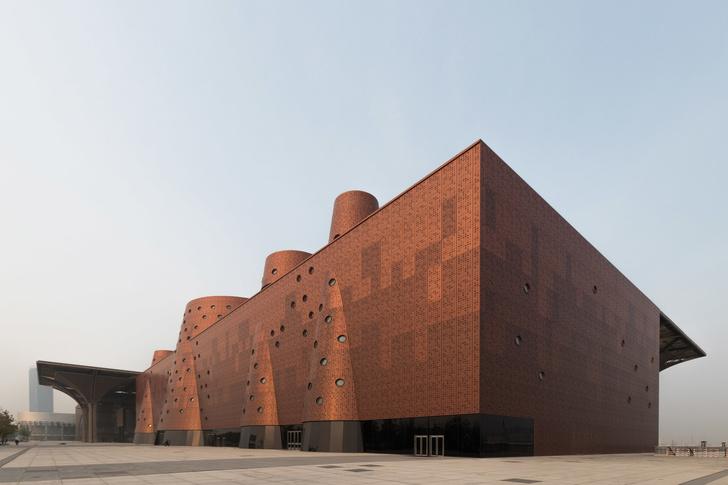 И медные трубы: новый музей по проекту Бернара Чуми в Китае (фото 2)