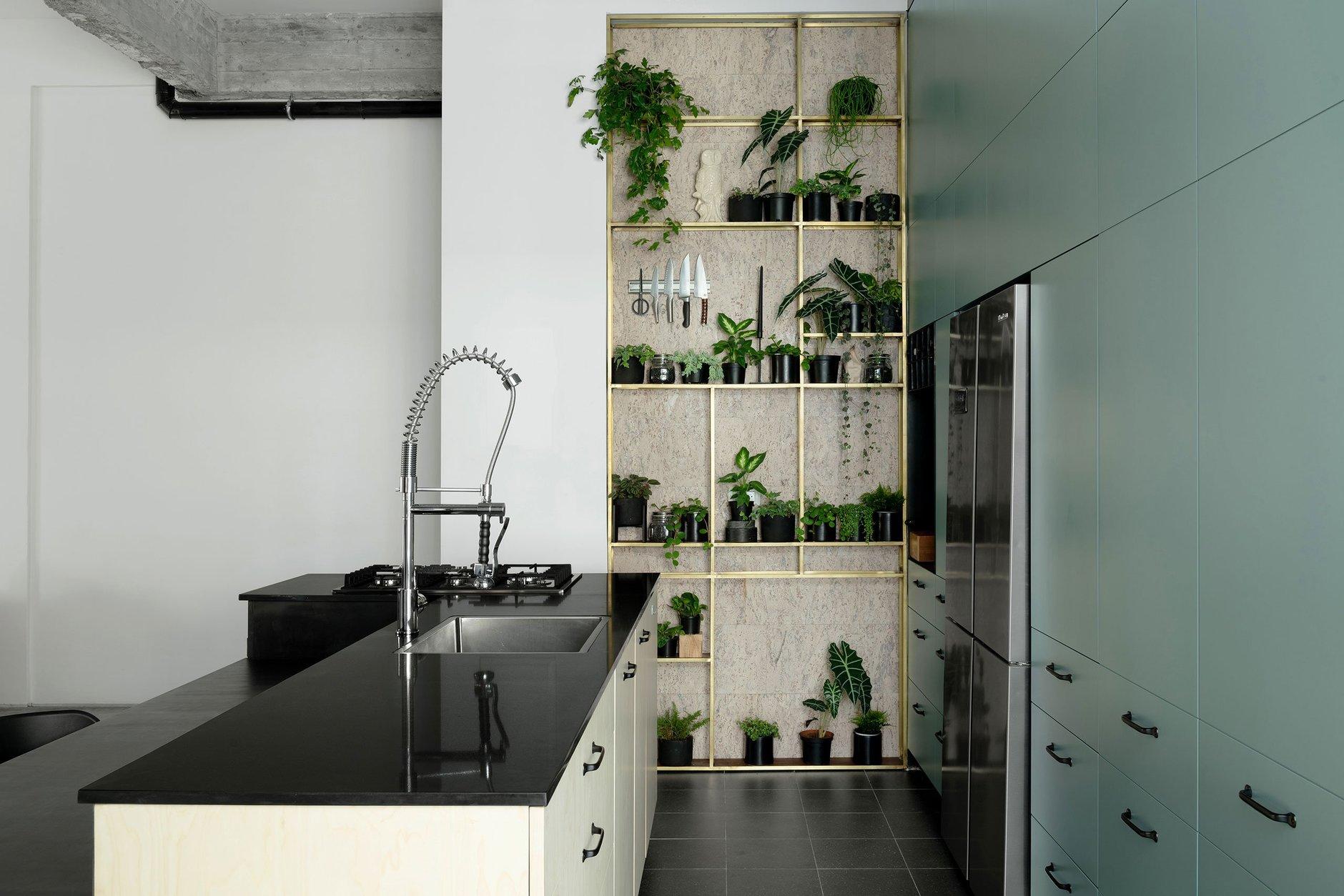 Квартира в Тель-Авиве в индустриальном стиле (галерея 10, фото 4)