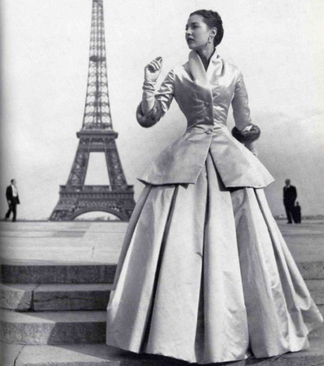 Пышная юбка в пол Dior