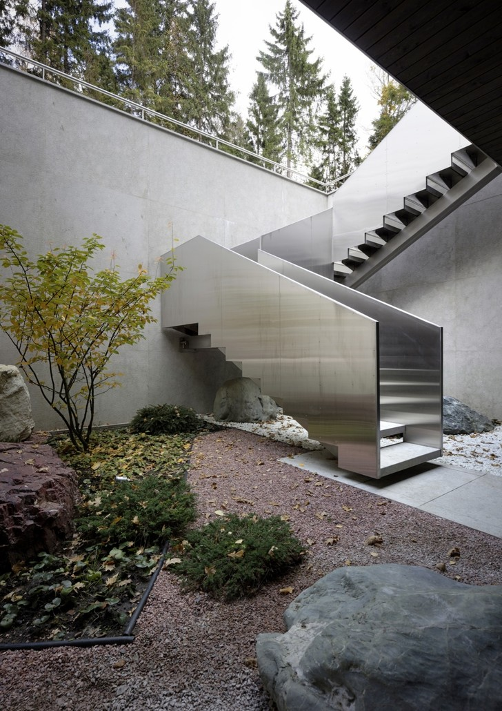 Необычный загородный дом по проекту Уильяма Савайи (фото 6)