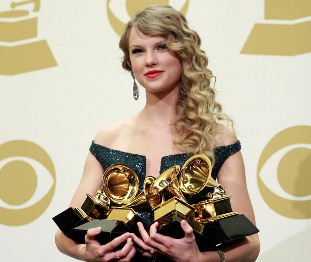 Grammy, 2010 г. taylor swift