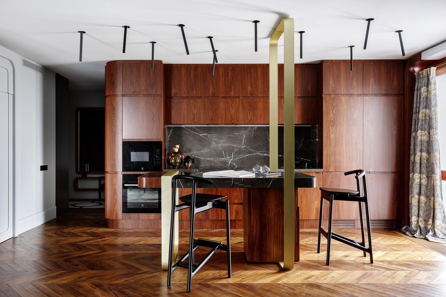 Кухня с деревянными фасадами: 25+ проектов (галерея 1, фото 2)