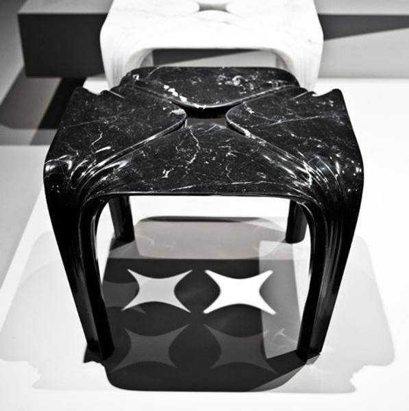 Мраморные вазы и столы от Захи Хадид | галерея [1] фото [13]