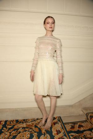 Показ Valentino коллекции сезона Весна-лето 2011 года Haute couture - www.elle.ru - Подиум - фото 218280