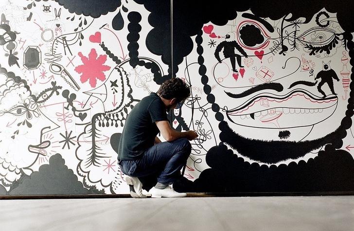 Чьи художества? Рисунки и арт-объекты Хайме Айона (фото 0)