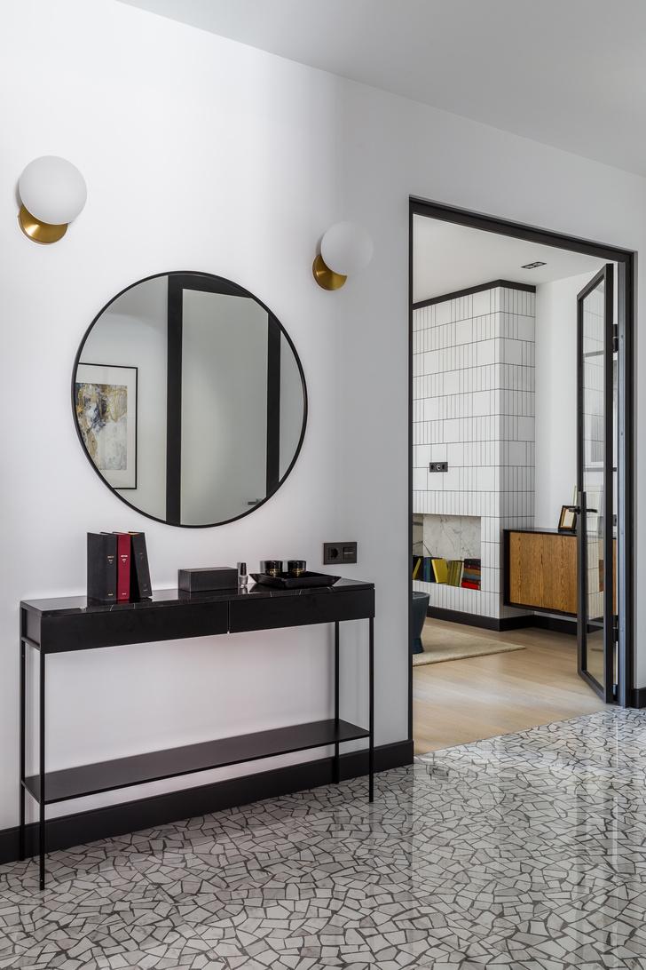 Современная интерпретация стиля «мидсенчури» для двухкомнатной квартиры в Краснодаре (фото 7)
