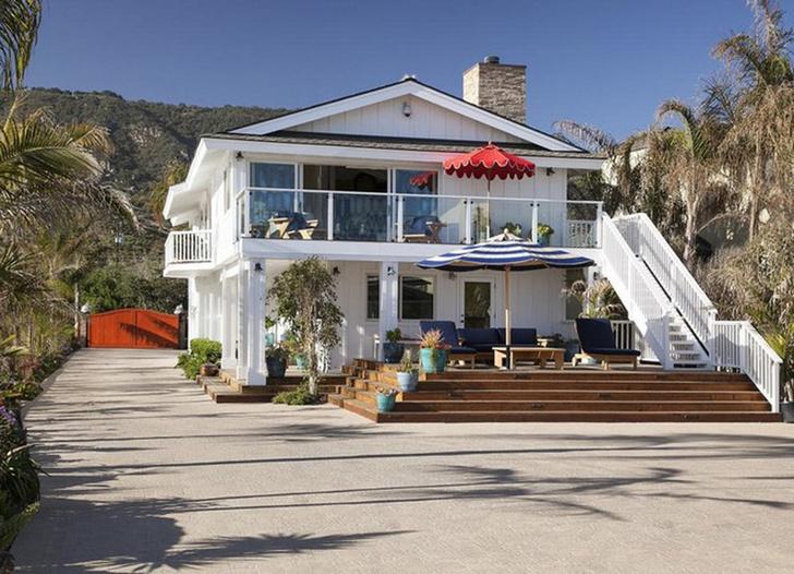 Mila Kunis and Ashton Kutcher Santa Barbara House