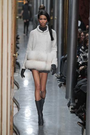 Показы мод Ermanno Scervino Осень-зима 2010-2011 | Подиум на ELLE - Подиум - фото 2761
