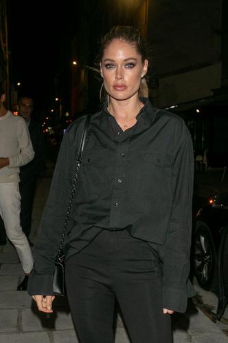 Как носить тотал-блэк? Как Даутцен Крез на вечеринке L'Oréal Paris (фото 3.2)