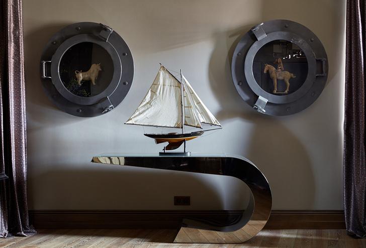 Квартира в морском стиле фото [6]