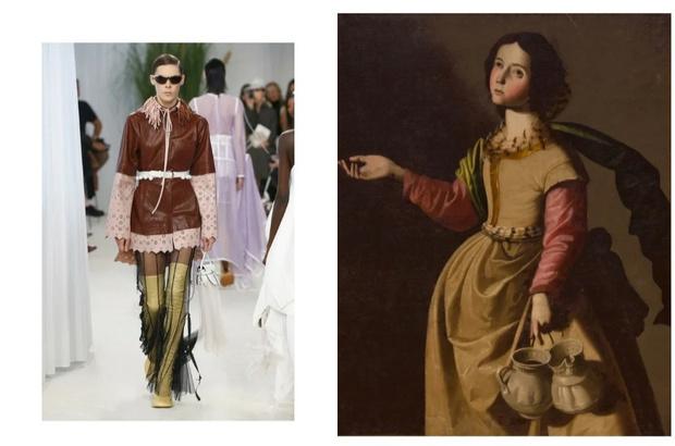 Веласкес и Пикассо: работы каких художников встретились в коллекциях весна-лето 2020 (фото 9)