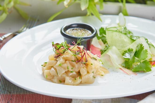 Севиче из морского гребешка