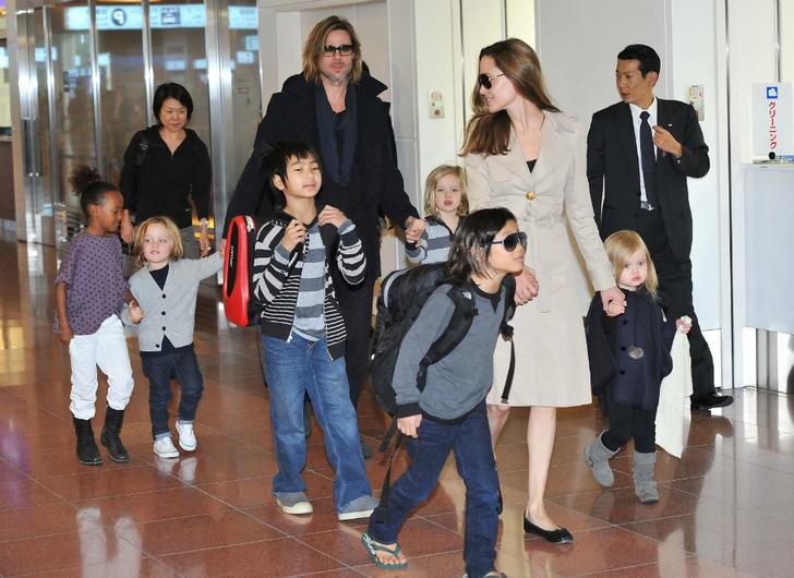 Анджелина Джоли и Брэд Питт встретят Хэллоуин вместе фото [4]