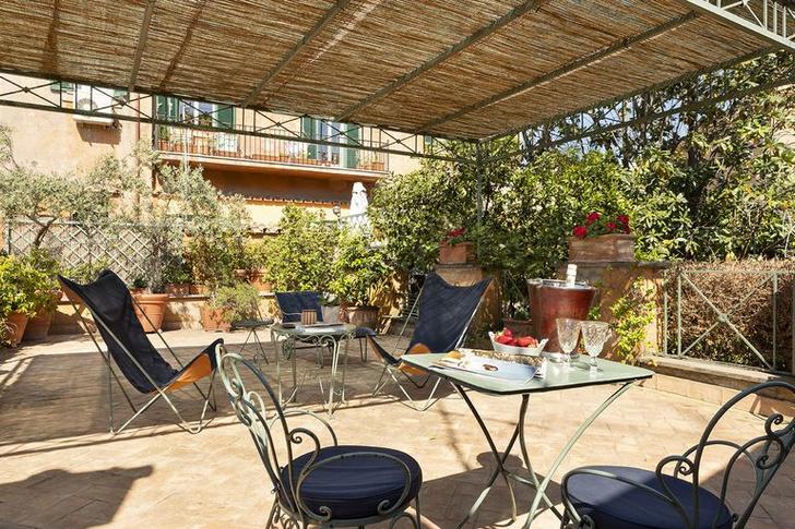 Арт-резиденция с живописным садом в Риме (фото 9)
