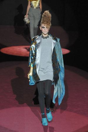 Показ Marc Jacobs коллекции сезона Осень-зима 2009-2010 года Prêt-à-porter - www.elle.ru - Подиум - фото 90743