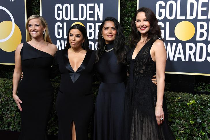 Почему все звезды пришли на «Золотой глобус» в черном? (фото 1)
