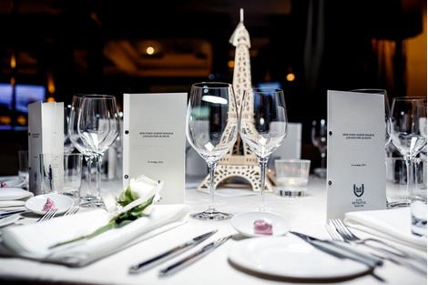 Закрытый ужин в честь Каролин Де Мегрэ в отеле «Метрополь»