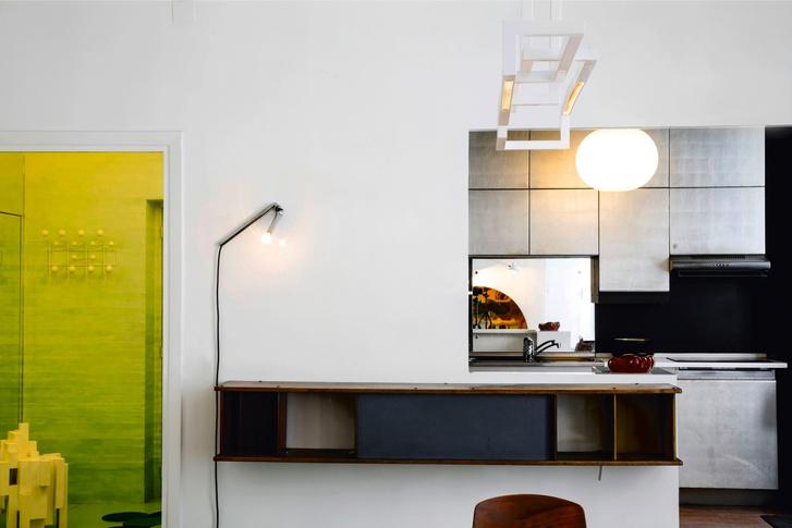 Эклектичная квартира по проекту Матиаса Кисса (фото 7)