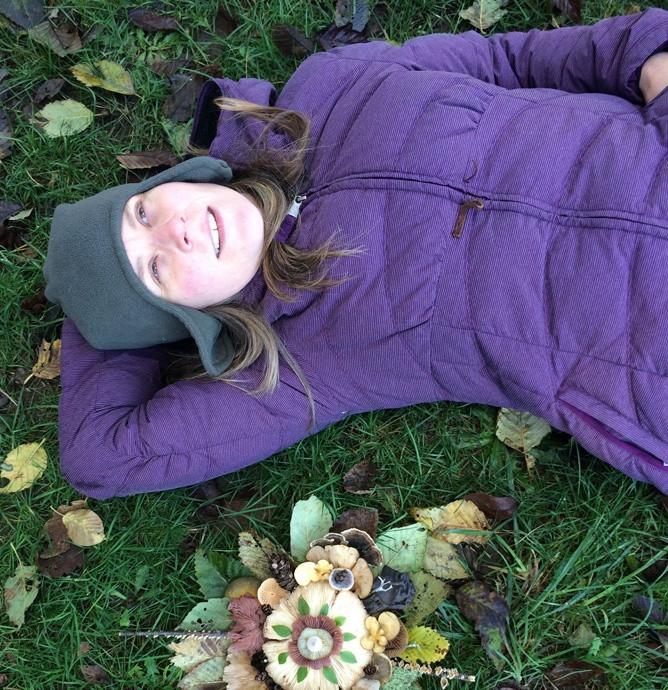 Волшебные грибы: Лесные фантазии американской художницы фото [4]