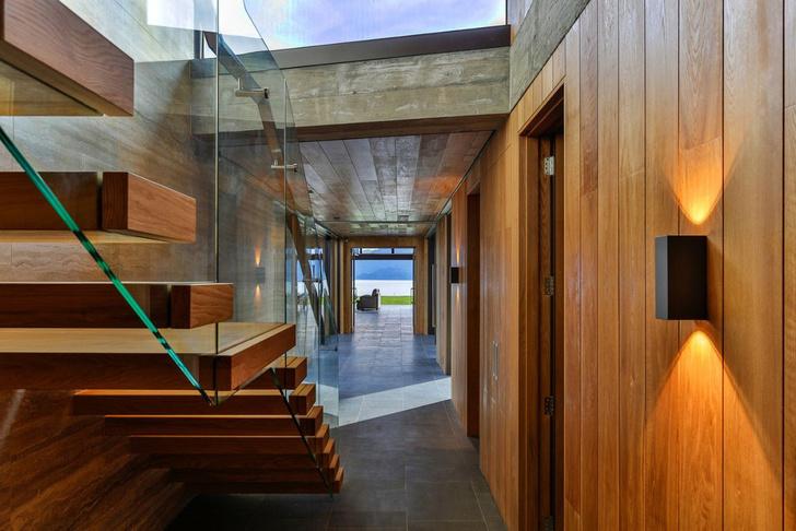 Одно целое: дом на берегу озера Вакатипу в Новой Зеландии (фото 8)