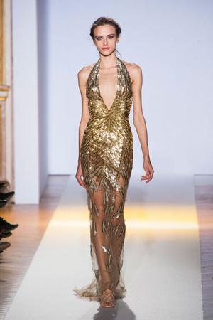 Показ Zuhair Murad коллекции сезона Весна-лето 2013 года Haute couture - www.elle.ru - Подиум - фото 480955