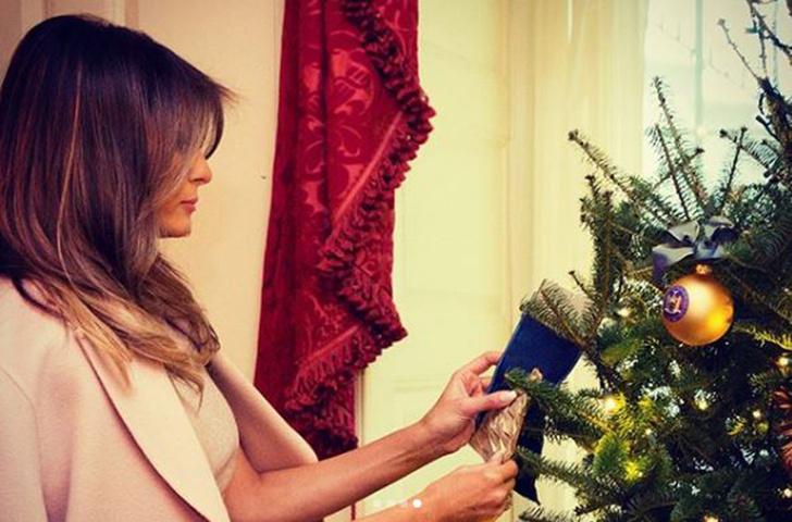 Как Мелания Трамп готовится к Рождеству? (фото 2)