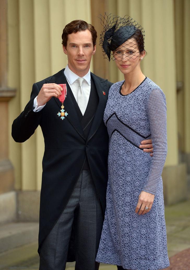 Бенедикт Камбербэтч стал кавалером Ордена Британской Империи