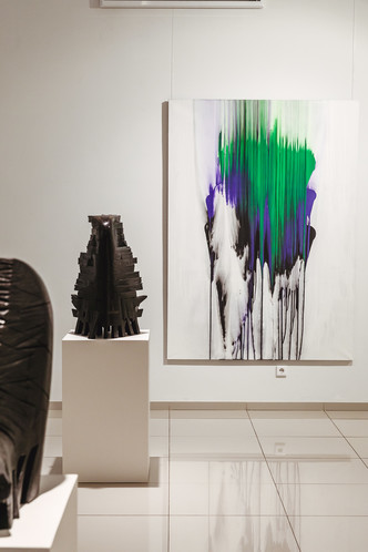 Форма & Цвет: выставка Валерия Пчелина и Игоря Михайленко (фото 3)