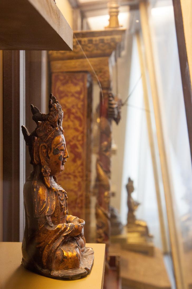 Мемориальный кабинет Николая Рериха в Музее Востока (фото 7)