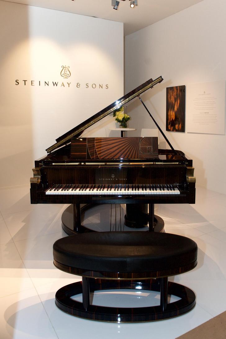 Дизайнерское фортепиано от Steinway & Sons
