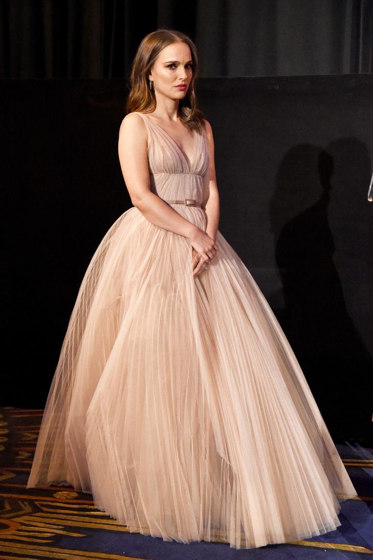 Натали Портман в Christian Dior на кинофестивале (фото 1)