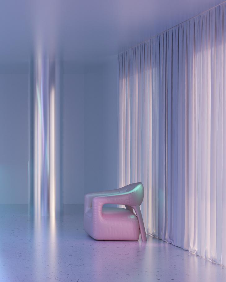 Голографическая мебель от студии Six N. Five (фото 5)