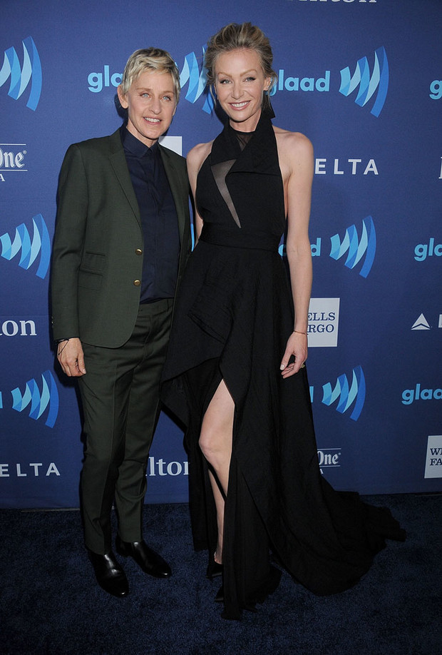 Эллен Дедженерес с супругой: фото 2015