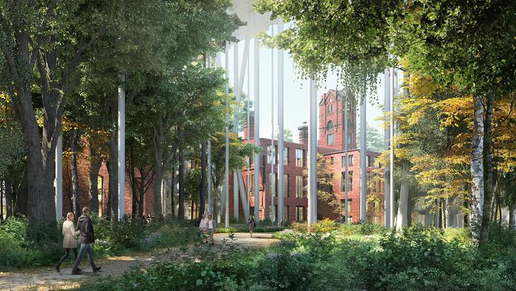 На территории Бадаевского завода появится парк (фото 2)