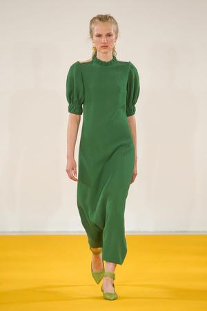Показы мод Emilia Wickstead Весна-лето  2017 | Подиум на ELLE - Подиум - фото 4634