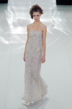 Показ Chanel коллекции сезона Весна-лето 2014 года haute couture - www.elle.ru - Подиум - фото 574495