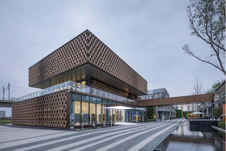 Брутальное здание офиса в Вэньчжоу (фото 0)