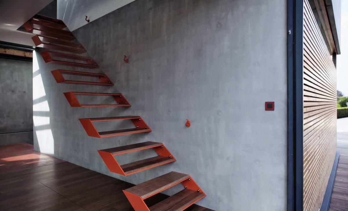 Топ-10: самые необычные дизайнерские лестницы | галерея [8] фото [6]