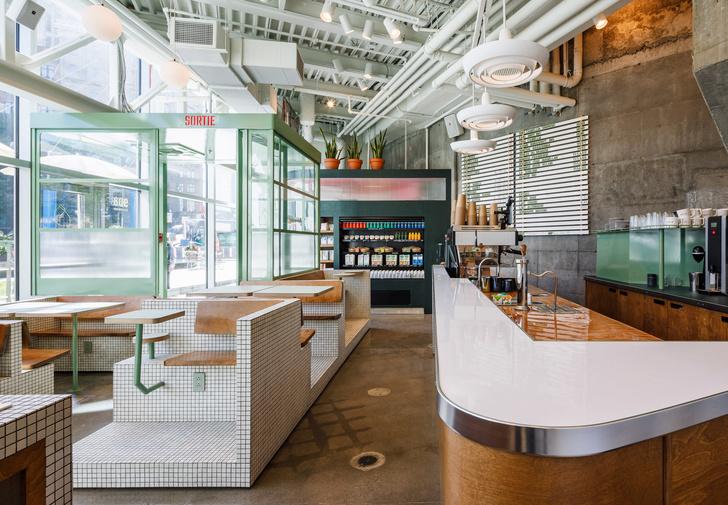 Маленькое дизайнерское кафе Melk в Монреале (фото 0)