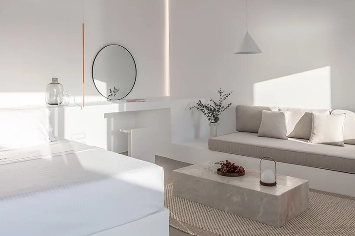 Saint Hotel на острове Санторини по проекту Kapsimalis Architects (фото 5)