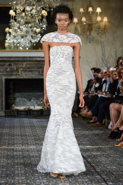 50 самых красивых платьев со Свадебной Недели Моды в Нью-Йорке | галерея [1] фото [5]