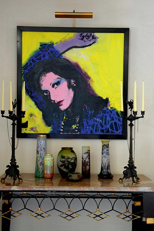 Знаменитый портрет работы Энди Уорхола